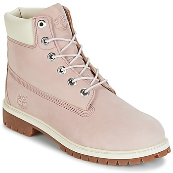 Schuhe Kinder Boots Timberland 6 IN PREMIUM WP BOOT Lavendel