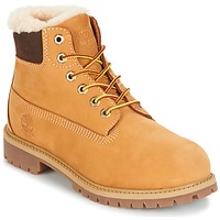 Schuhe Kinder Boots Timberland 6 IN PRMWPSHEARLING LINED Camel
