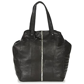 Taschen Damen Shopper / Einkaufstasche Pieces JULES Schwarz