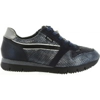 Schuhe Damen Sneaker Low Bass3d 41233 Azul