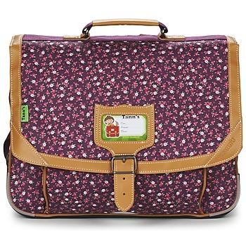Taschen Mädchen Schultasche Tann's EXCLU CHERRY CARTABLE 38CM Grau / Rose
