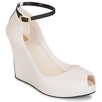 Schuhe Damen Sandalen / Sandaletten Melissa PATCHULI IX AD Beige / Schwarz