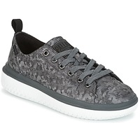 Schuhe Damen Sneaker Low Palladium CRUSHION LACE CAMO Schwarz / Grau