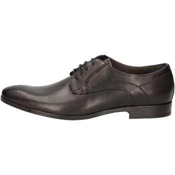Schuhe Herren Derby-Schuhe Nicolabenson 1604B Lace up shoes Mann Schwarz Schwarz