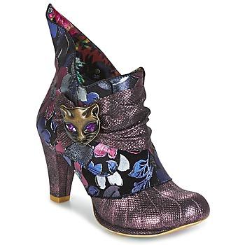 Schuhe Damen Ankle Boots Irregular Choice MIAOW Violett