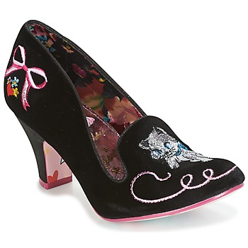 Schuhe Damen Pumps Irregular Choice FUZZY PEG Schwarz