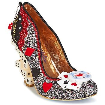 Schuhe Damen Pumps Irregular Choice LAS VEGAS Silbern / Schwarz