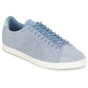 Schuhe Damen Sneaker Low Le Coq Sportif CHARLINE NUBUCK Blau