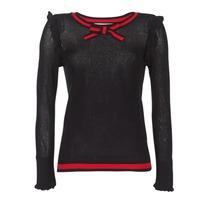 Kleidung Damen Pullover Morgan MIRTI Schwarz / Rot