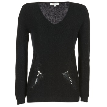 Kleidung Damen Pullover Morgan MDAN Schwarz