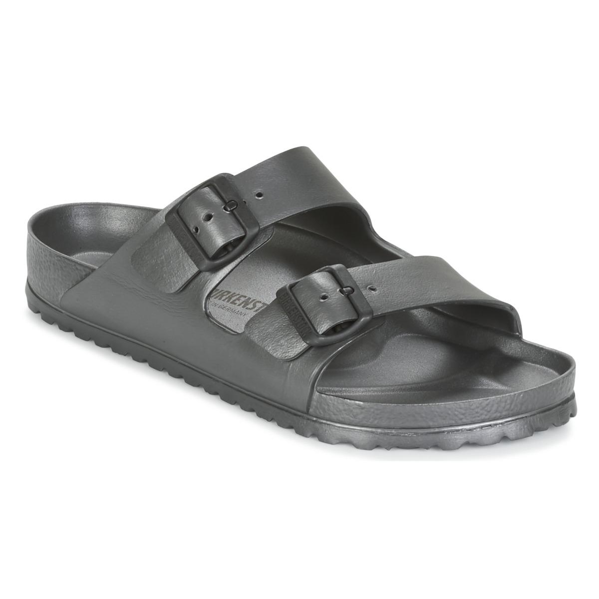 Birkenstock ARIZONA Grau - Kostenloser Versand bei Spartoode ! - Schuhe Pantoffel Herren 27,99 €