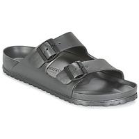 Schuhe Herren Pantoffel Birkenstock ARIZONA EVA Grau