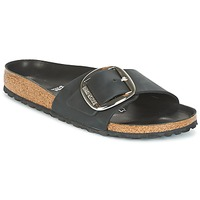Schuhe Damen Pantoffel Birkenstock MADRID BIG BUCKLE Schwarz