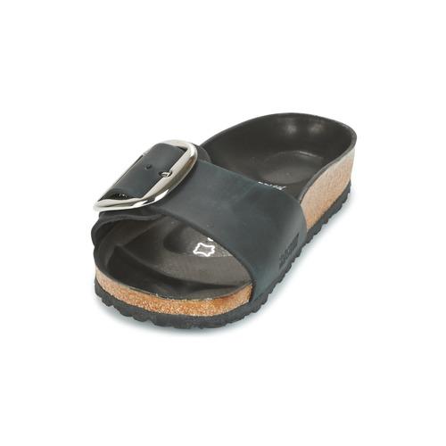 Birkenstock MADRID BIG BUCKLE Schwarz - Schuhe Pantoffel Damen 94,99