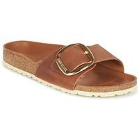 Schuhe Damen Pantoffel Birkenstock MADRID BIG BUCKLE Braun