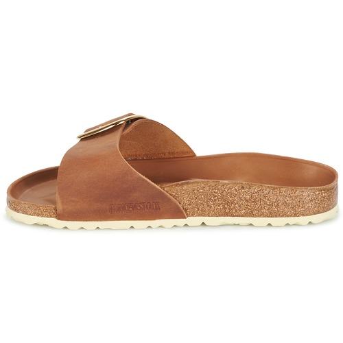 Birkenstock MADRID Schuhe BIG BUCKLE Braun - Schuhe MADRID Pantoffel Damen 100 857083