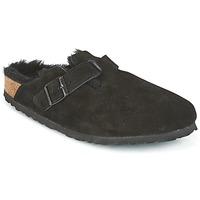 Schuhe Damen Pantoletten / Clogs Birkenstock BOSTON Schwarz