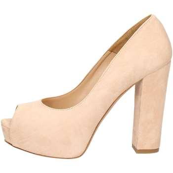 Schuhe Damen Pumps Noa NOA  B6501 Geöffnete Schuhe Frau skin skin