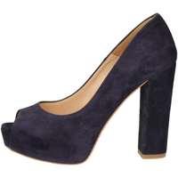 Schuhe Damen Pumps Noa NOA  B6501 Geöffnete Schuhe Frau Blau Blau