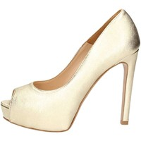 Schuhe Damen Pumps Noa NOA  B6501 Pumps Frau Platin Platin