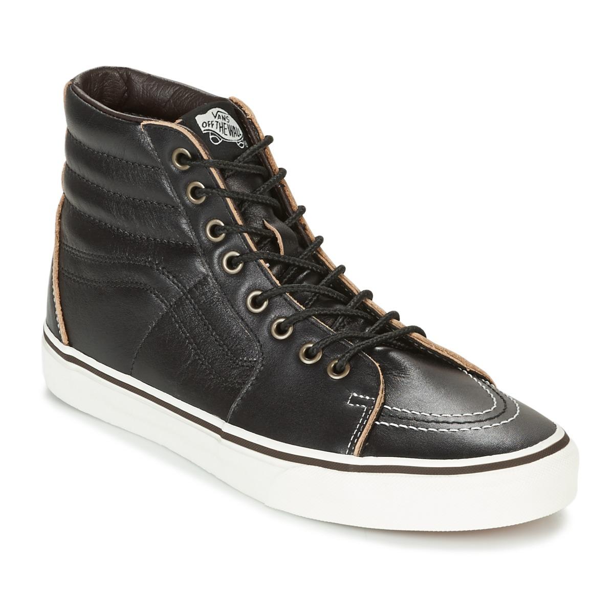 Vans SK8-HI Schwarz - Kostenloser Versand bei Spartoode ! - Schuhe Sneaker High  76,30 €