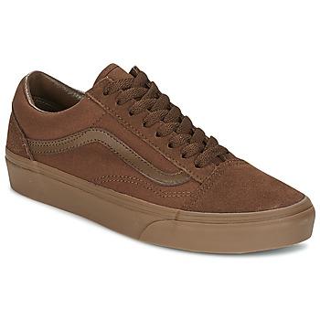 Schuhe Herren Sneaker Low Vans OLD SKOOL Braun