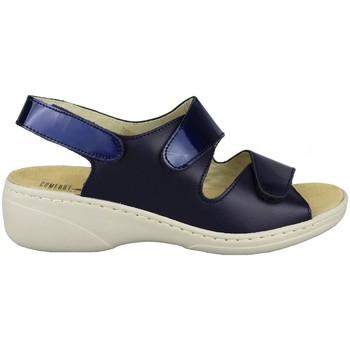 Schuhe Damen Sandalen / Sandaletten Comfort Class SANDALIA COMODA PLANTILLA EXTRAIBLE MARINO