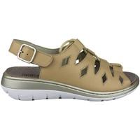 Schuhe Damen Sandalen / Sandaletten Comfort Class SANDALIA COMODA CORDONES BEIGE