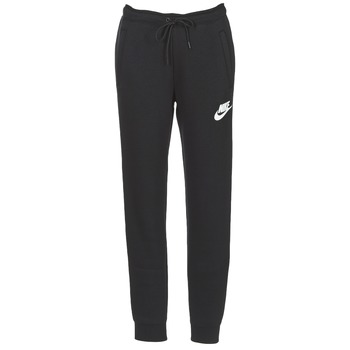 Kleidung Damen Jogginghosen Nike RALLY PANT Schwarz / Weiss