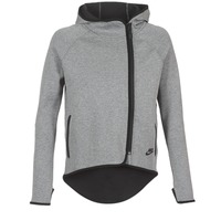 Kleidung Damen Sweatshirts Nike TECH FLEECE CAPE FZ Grau