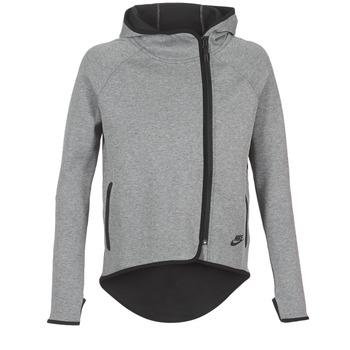 Kleidung Damen Sweatshirts Nike TECH FLEECE CAPE FZ Grau