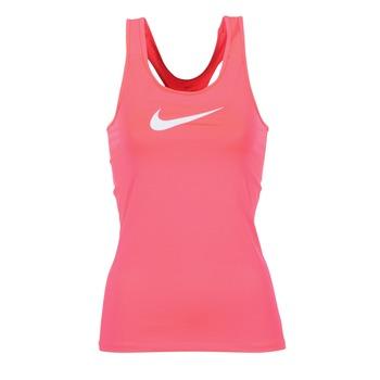 Kleidung Damen Tops Nike NIKE PRO COOL TANK Rose / Weiss