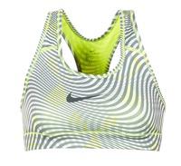Kleidung Damen Sport BHs Nike NIKE PRO CLASSIC BRA Gelb / Grau