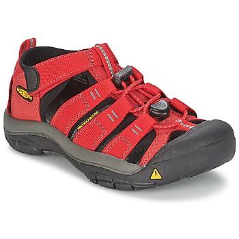 Schuhe Kinder Sportliche Sandalen Keen KIDS NEWPORT H2 Rot / Grau