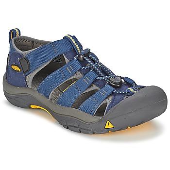 Schuhe Kinder Sportliche Sandalen Keen KIDS NEWPORT H2 Blau / Grau