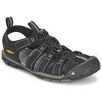 Schuhe Herren Sportliche Sandalen Keen MEN CLEARWATER CNX Schwarz / Grau