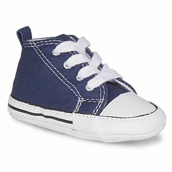 Schuhe Kinder Babyschuhe Converse FIRST STAR TOILE Marine