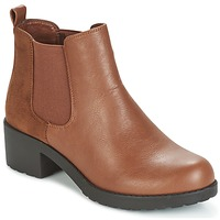 Schuhe Damen Low Boots Moony Mood GLOVILA Camel