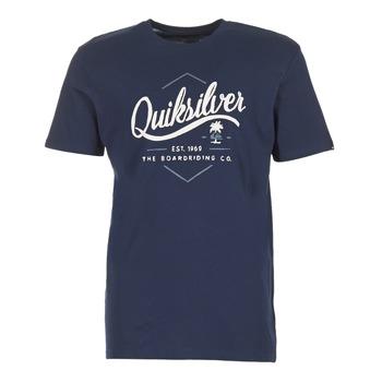 Kleidung Herren T-Shirts Quiksilver CLATESEATALES Marine