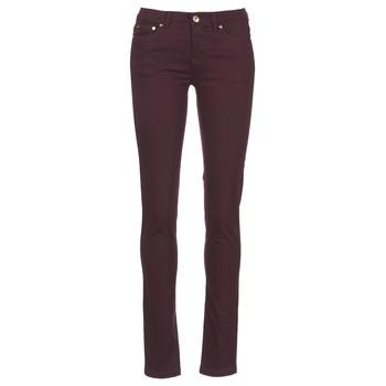 Kleidung Damen 5-Pocket-Hosen Les P'tites Bombes BEMBRELA Pflaume
