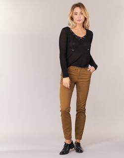 Kleidung Damen 5-Pocket-Hosen Les P'tites Bombes CHINAI Cognac