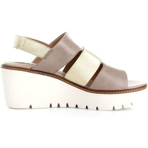 Geox D721XB00LC Sandalen Frau Taupe/Gold Taupe/Gold