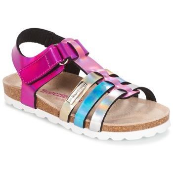 Schuhe Mädchen Sandalen / Sandaletten Les Tropéziennes par M Belarbi POLINA Rose / Blau / Silbern