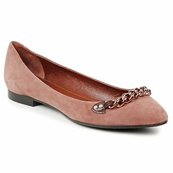 Schuhe Damen Ballerinas Marc Jacobs CHAIN BABIES Braun