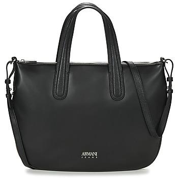 Taschen Damen Handtasche Armani jeans DILAF Schwarz
