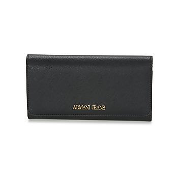 Taschen Damen Portemonnaie Armani jeans SALDI Schwarz