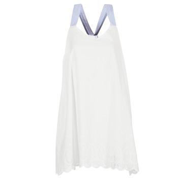 Kleidung Damen Kurze Kleider Betty London GRAMA Naturfarben