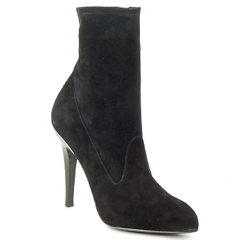 Schuhe Damen Low Boots Michael Kors STRETCH LB Schwarz