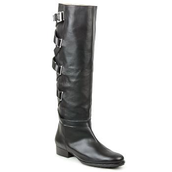 Schuhe Damen Klassische Stiefel Michael Kors AFRICA Schwarz