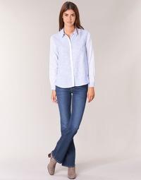 Kleidung Damen Bootcut Jeans Pepe jeans PIMLICO Blau